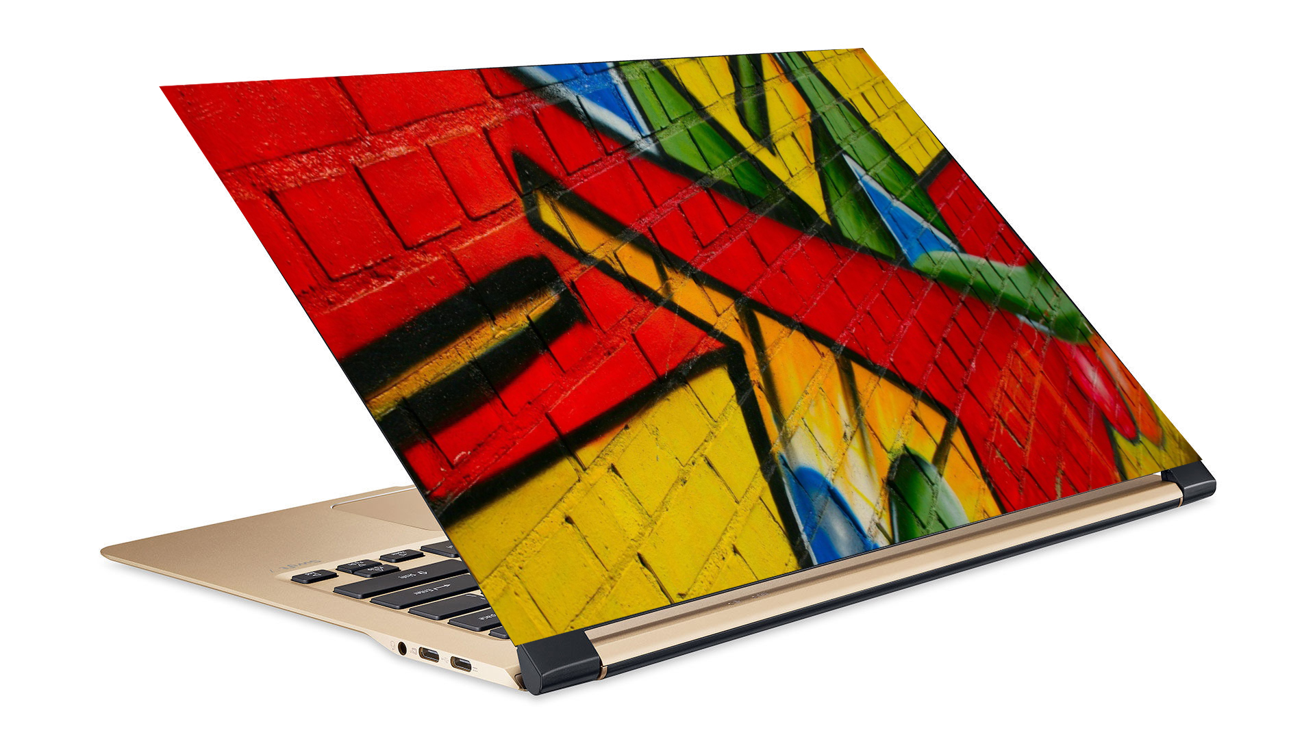 Pujya Designs Wall Art Laptop Skin 15.6 Vinyl Vinyl Laptop Decal 15.6
