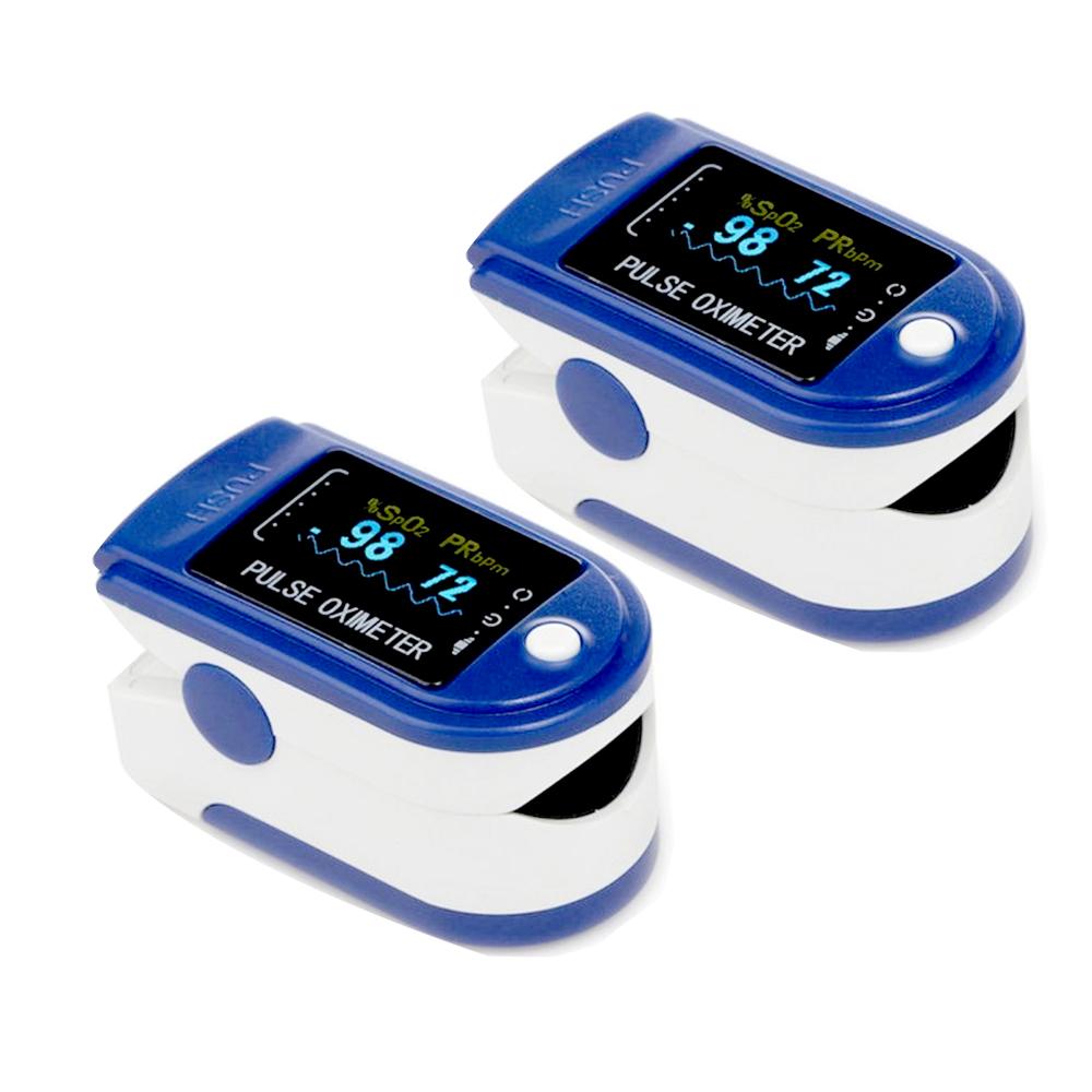 Pack Of 2 True India Plastic Pulse Oximeter