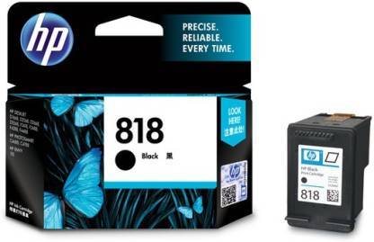 HP 818 Single Black Color Ink Cartridge