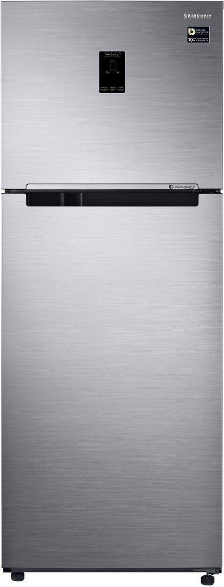 Samsung 415 L 3 Star   2019   Frost Free Double Door Refrigerator RT42M5538S8/TL, Elegant Inox, Convertible