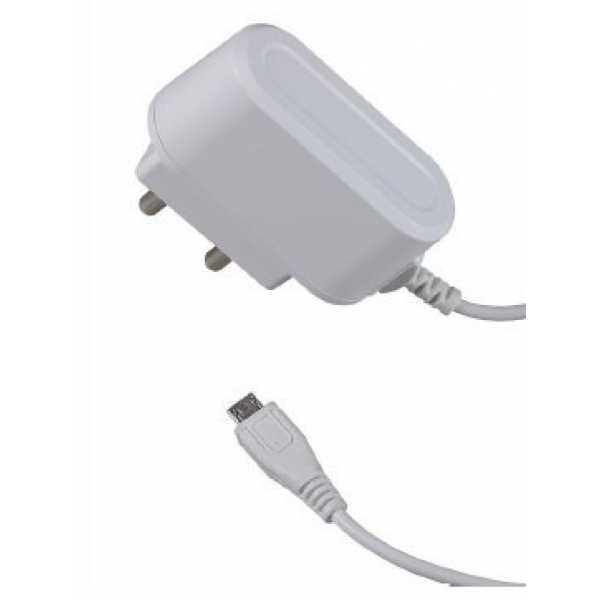 INTEX WALL CHARGER 1AMP FAST CHARGING MOBILE CHARGER WHITE