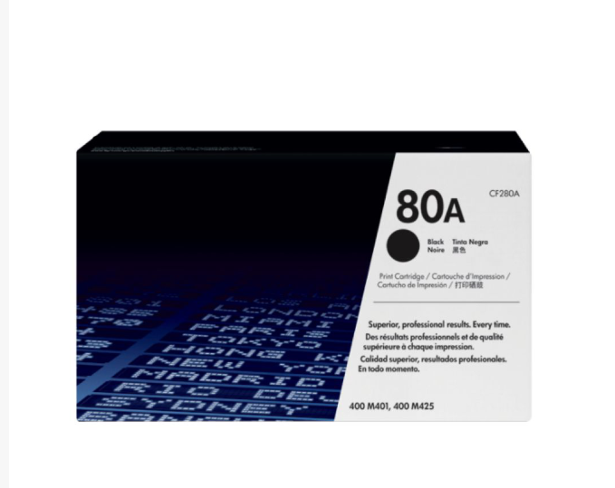 HP 80A Toner Cartridge For Use 400/M401/M401d/M401dn/M401dw/M401n/M425dn/M425dw