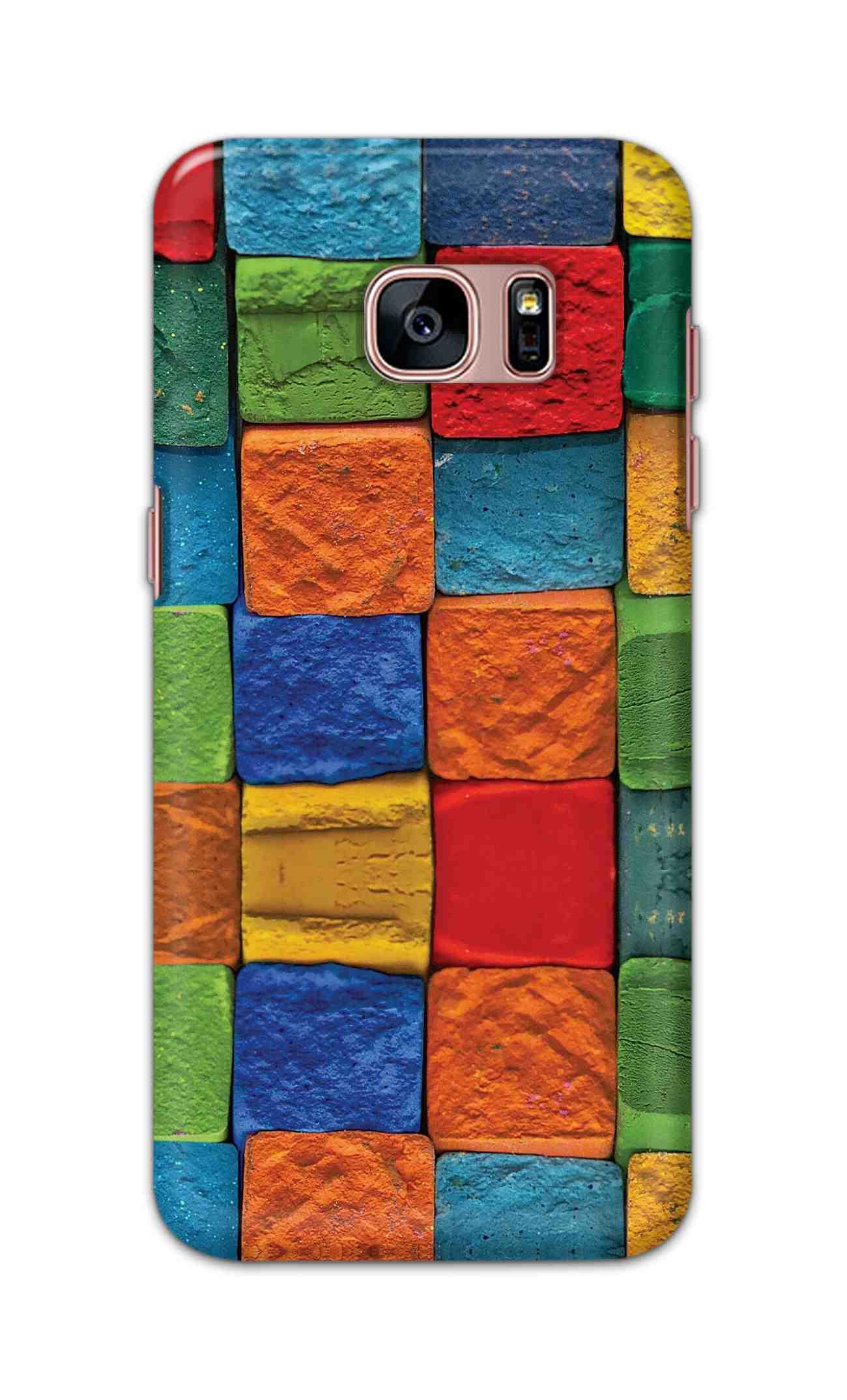 Digimate Hard Matte Printed Designer Cover Case For Samsung Galaxy S7 edge