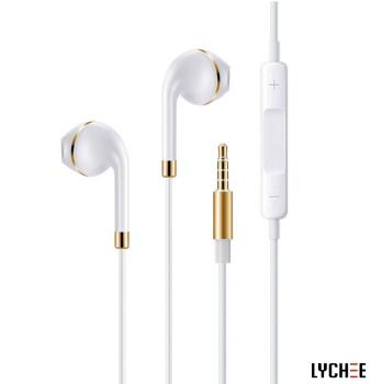 zipper metal headphones Wired