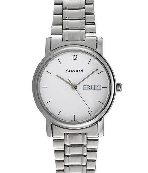 sonata 1013sm06 analog watch for men