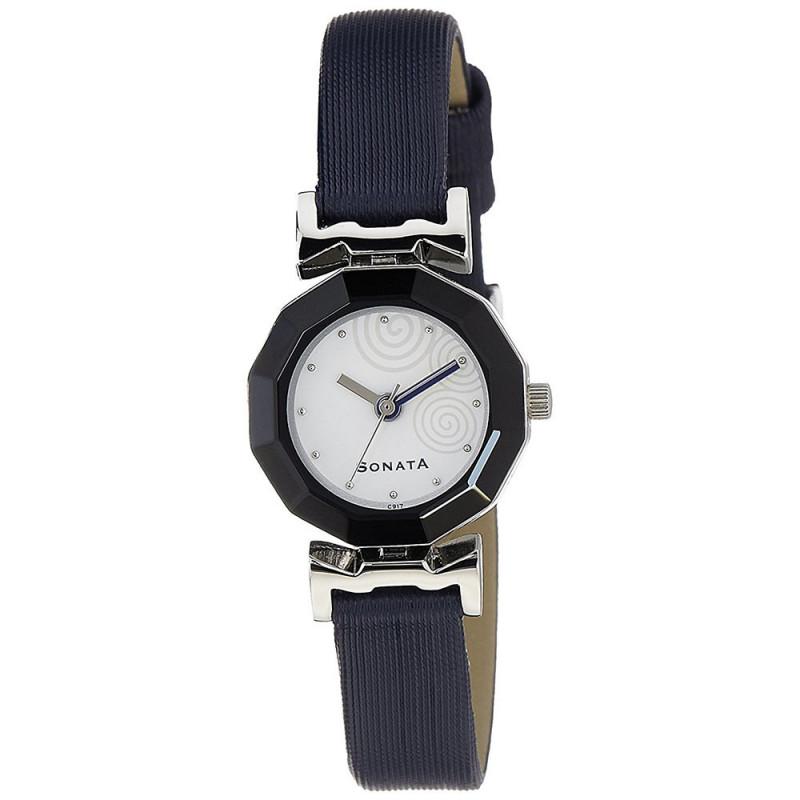 sonata 8943sl02 analog watch for women