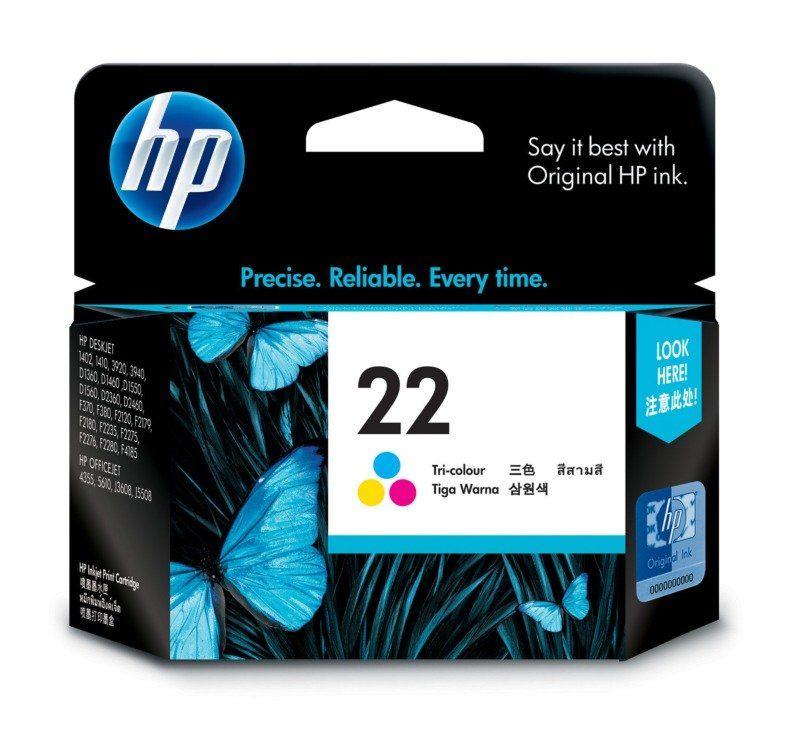 HP 22 Tri Color Ink Cartridge