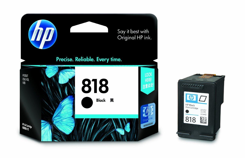 HP 818 Single Black Color Ink Cartridge