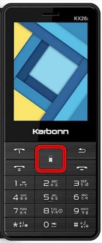Karbonn Kx26I Dual Sim 2.4 Inch Feature Phone  Black