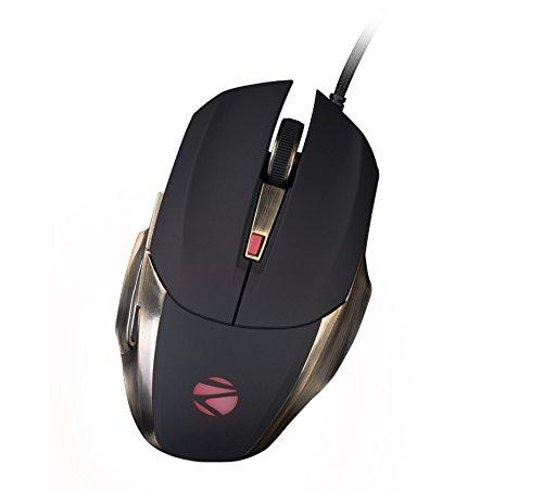 Zebronics Alien Pro Premium Wired Optical Gaming Mouse  USB 2.0, Black