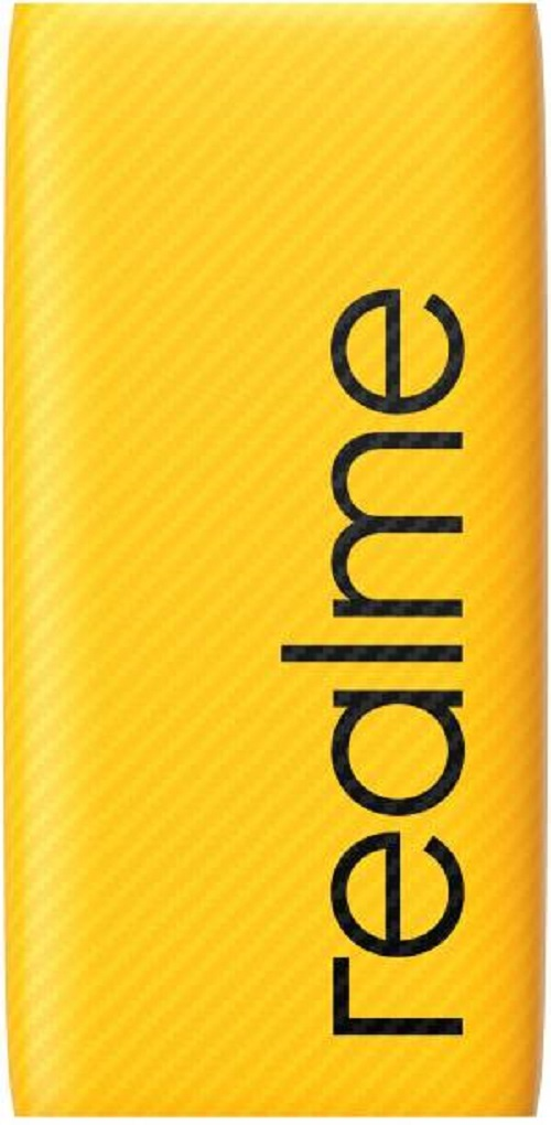 Realme 10000 mAh Power Bank  Quick Charge 2.0, Quick Charge 3.0   Yellow, Lithium Polymer  With 3 Months Warranty