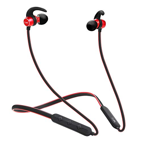 Boat Rockerz 255 Sports In Ear Bluetooth Neckband Earphone With Mic Raging Red