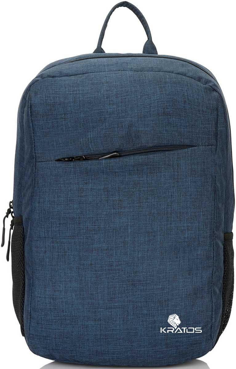 Kratos 15.6 inch Waterproof Casual Office Bag/ College Bag/Business Bag/Unisex Travel Laptop Backpack  Blue
