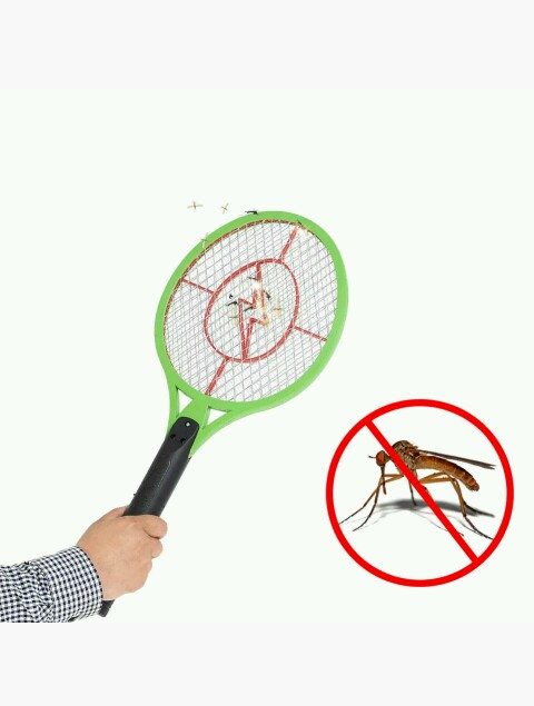 Rechargeable Electric Insect Bug Bat Wasp Mosquito Zapper Swatter Racket anti mosquito killer