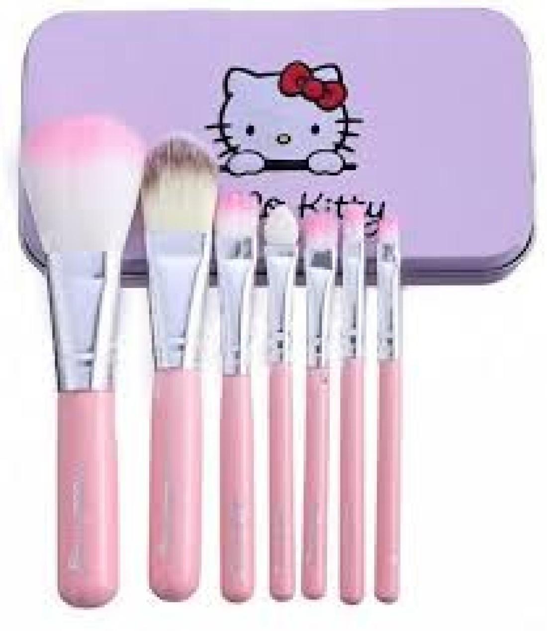 Hello Kitty Make Up Brush Set Of 7
