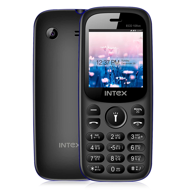 Intex Eco 105vx Mobile   Grey + Black Color