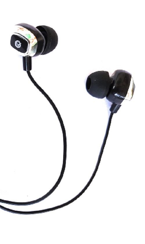 Hello Royals Black Multi Earphone Wired Headset Without Mic