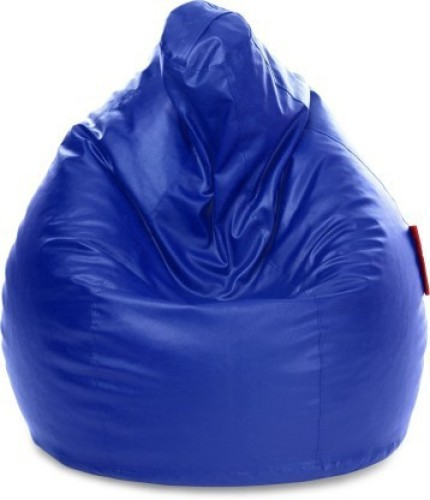 Home Berry XXL Tear Drop Bean Bag Cover Without Beans   Blue