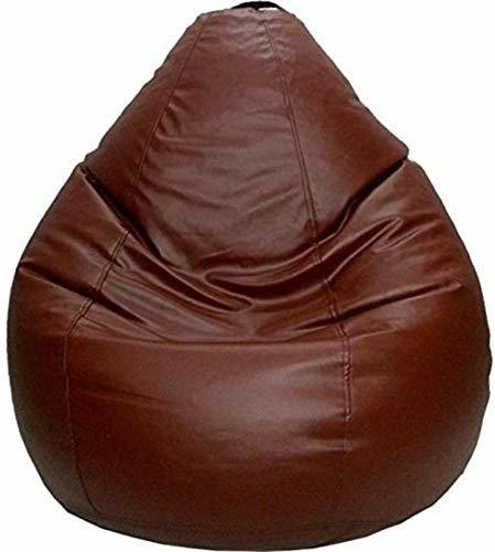 Home Berry XXL Tear Drop Bean Bag Cover Without Beans   Brown