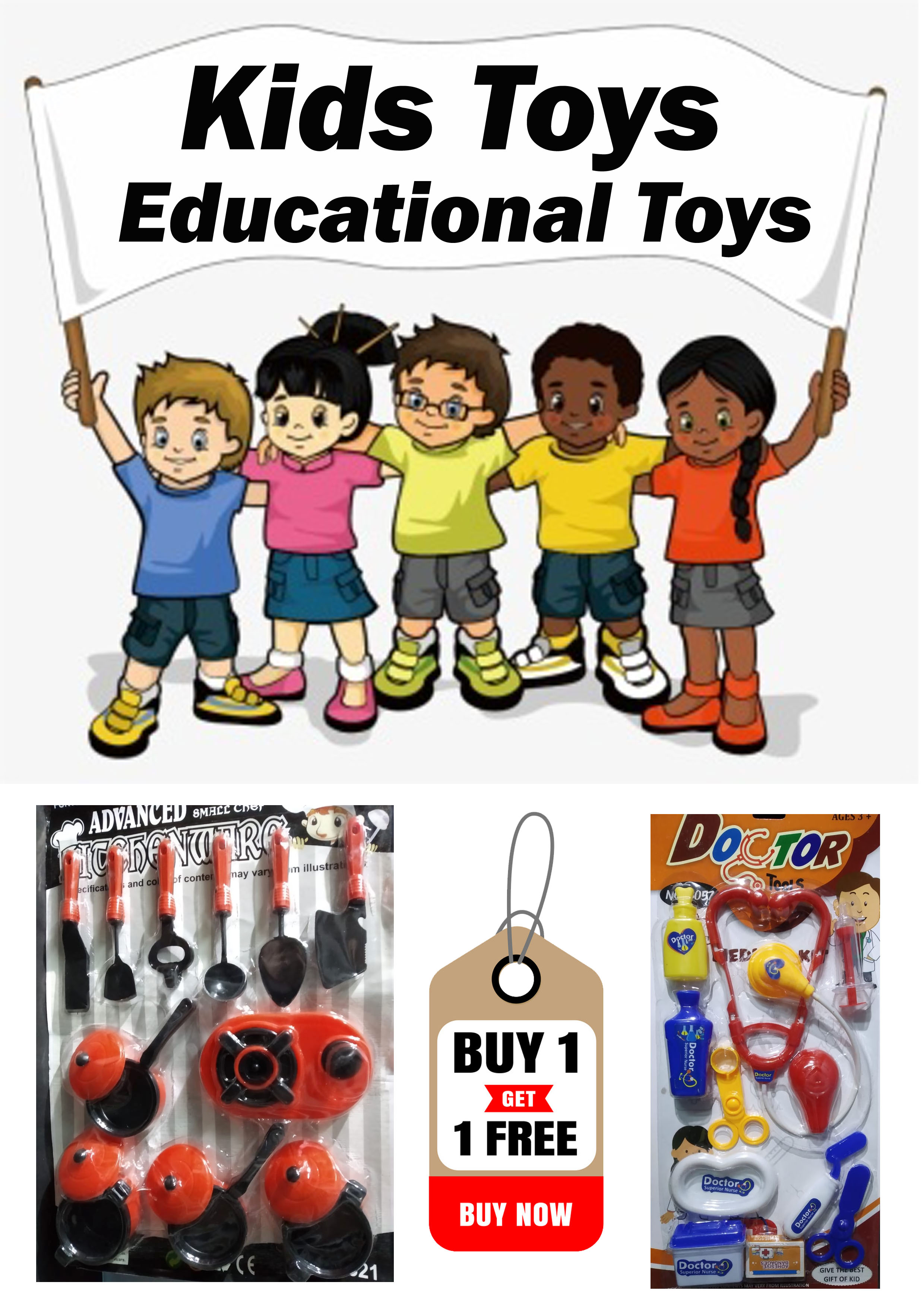kids toys kitchen set + doctor set best gift item combo offer sale educationel toys girls toys boys toys