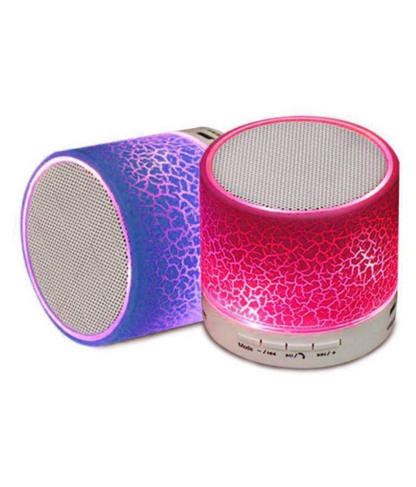 KSS Bluetooth Speaker S10 Connecting with Mobile/Tablet/Laptop  Multicolour