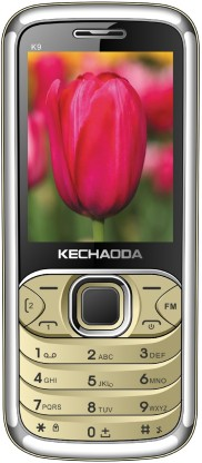 Kechaoda K9 Gold Feature Mobile Phone