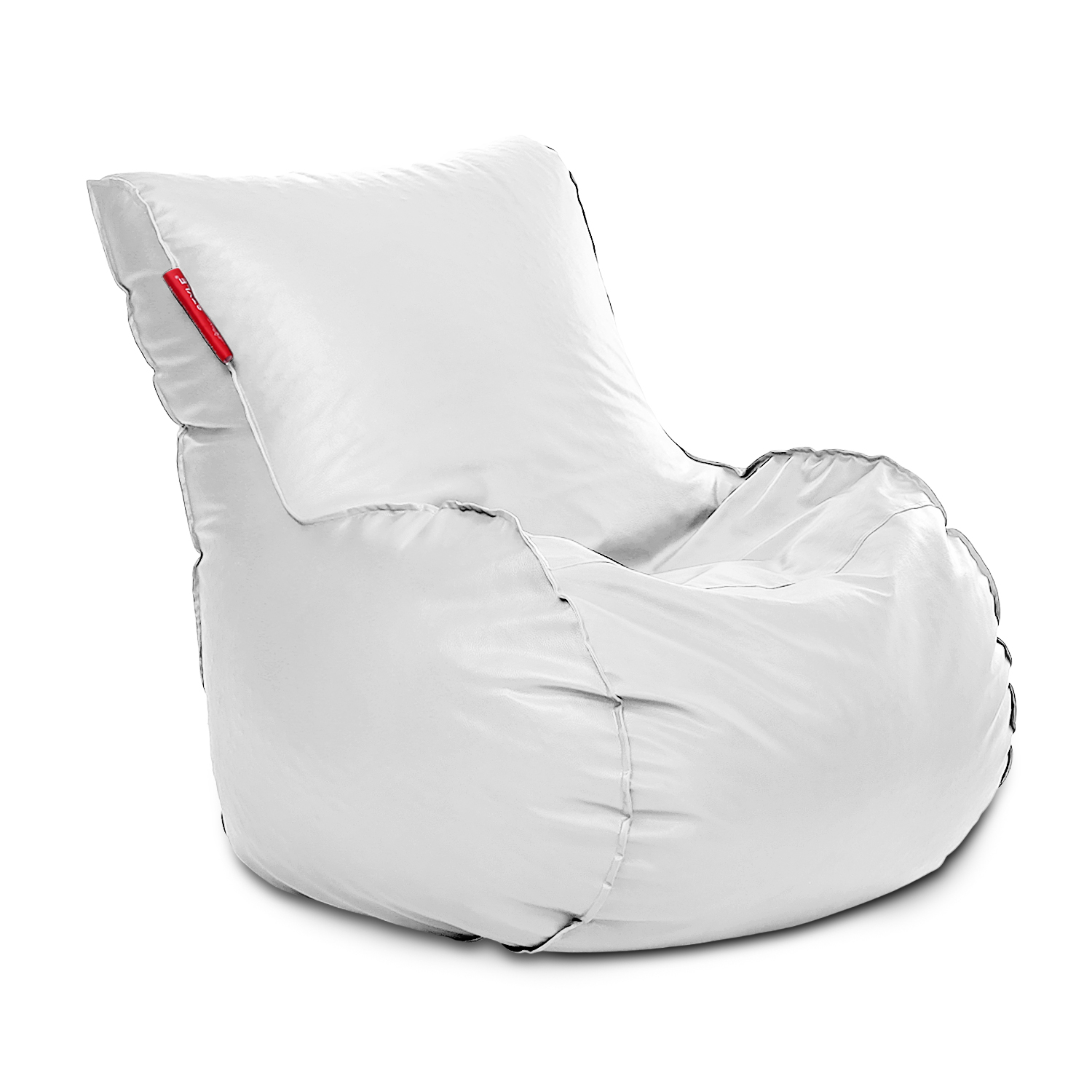 Style Homez Mambo Lounger XXXL Bean Bag White Color Cover Only