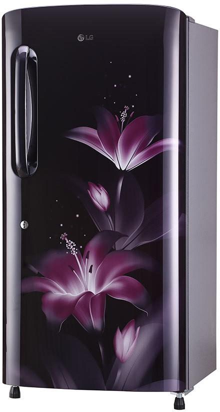 LG 215 L Direct Cool Single Door 3 Star Refrigerator  Purple Glow, GL B221APGX