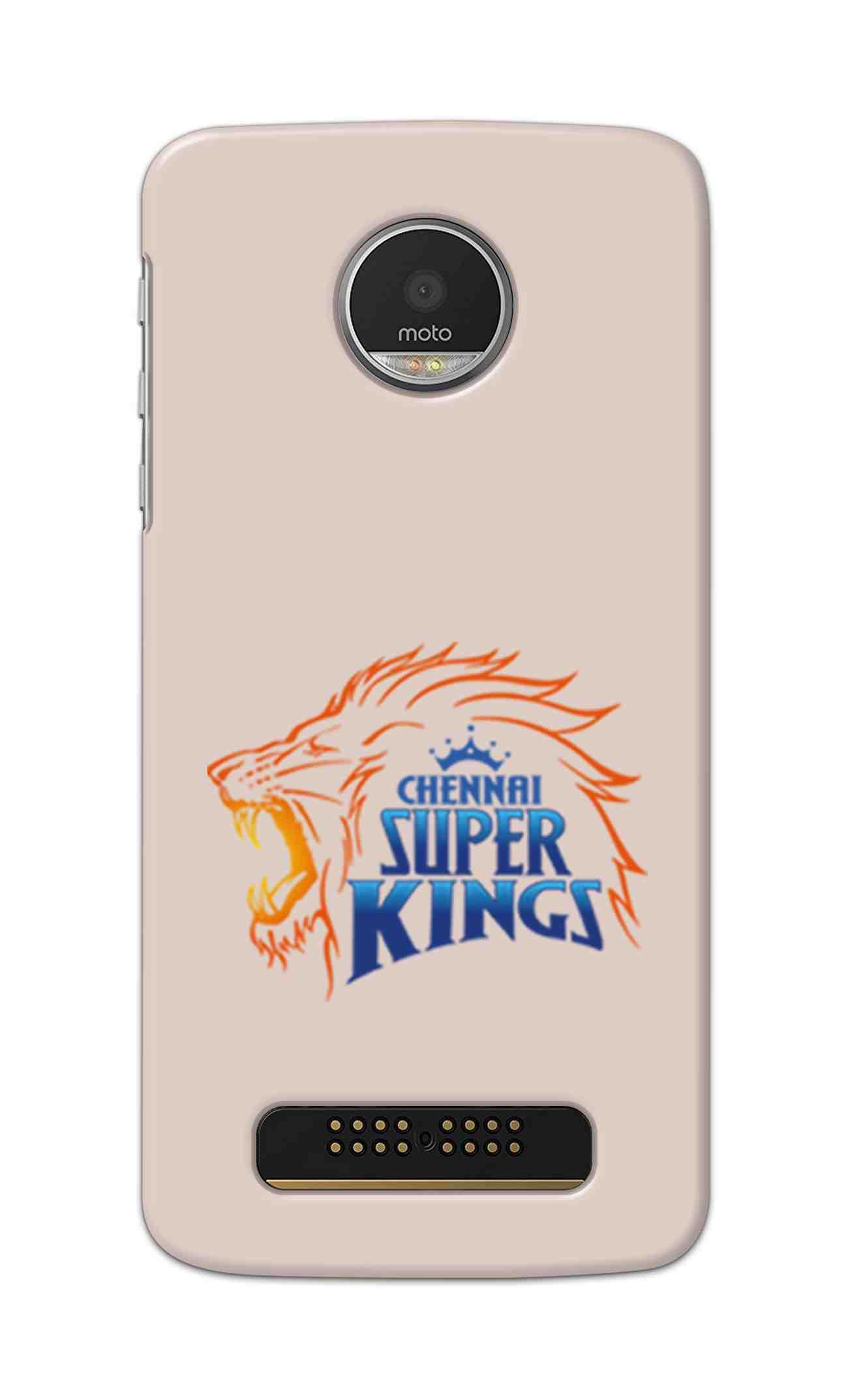 IPL FANS Digimate Multicolor, Hard Matte Printed Designer Cover Case For Motorola Moto Z Play