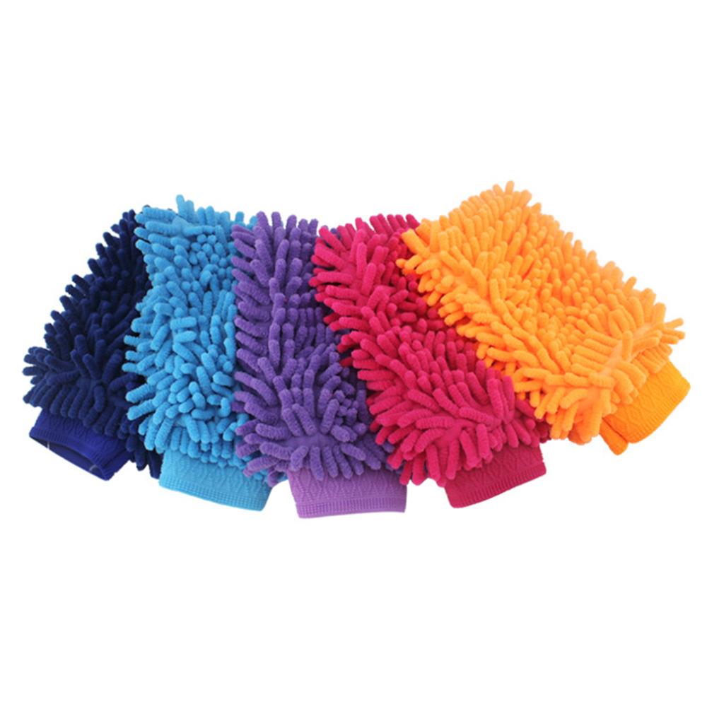love4ride 2pcs/lot Super Mitt Microfiber Car Wash Washing Cleaning Gloves Car Wash Gloves Microfiber Car cleaning brush car duster