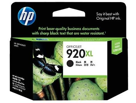 HP 920XL Ink Cartridge Black For Use Officejet 6500 Printer series