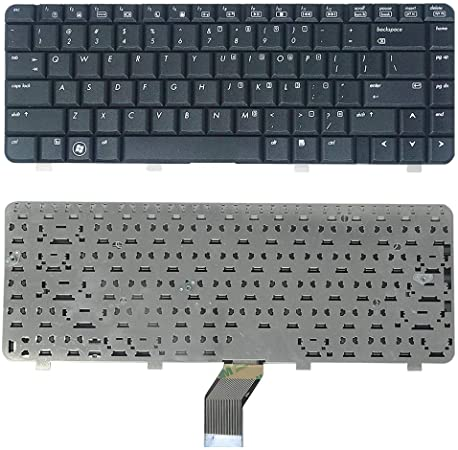 Zikson Laptop Keyboard for HP Compaq, CQ40 Compatible Black