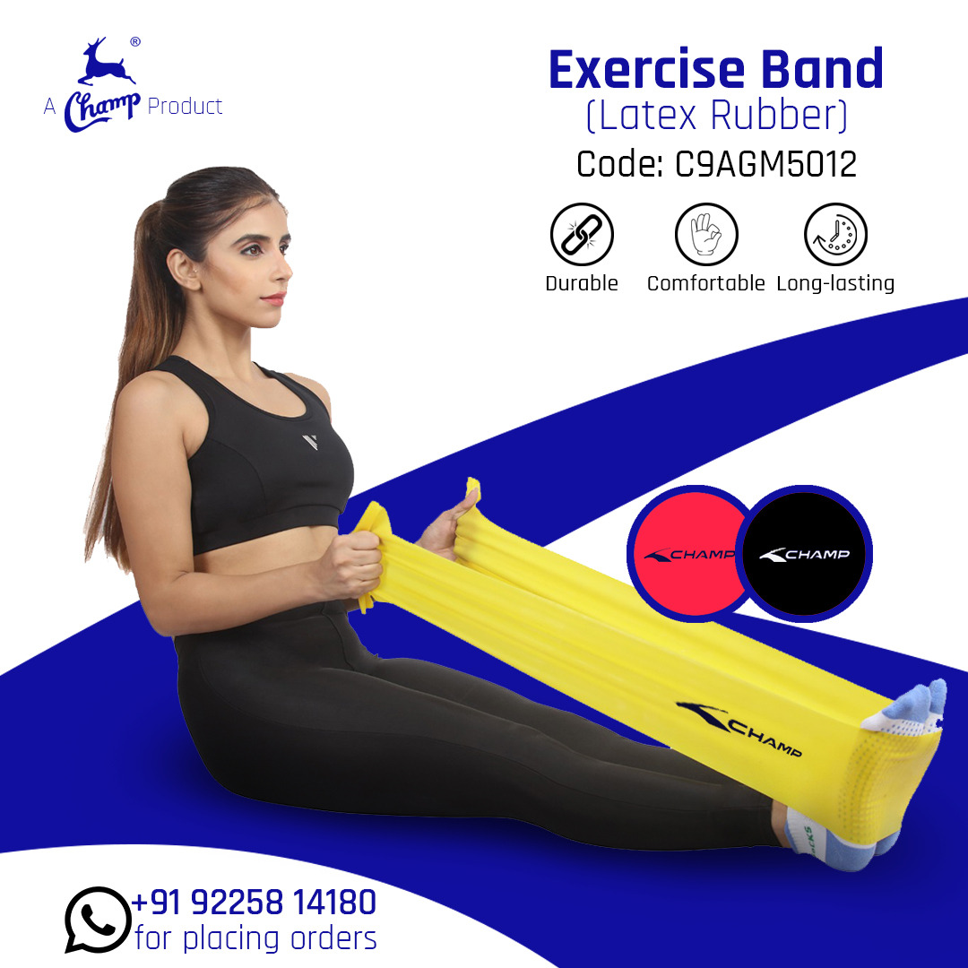Unisex MultiSport Gear   Exercise Bands Latex Rubber Exercise / Resistance Band
