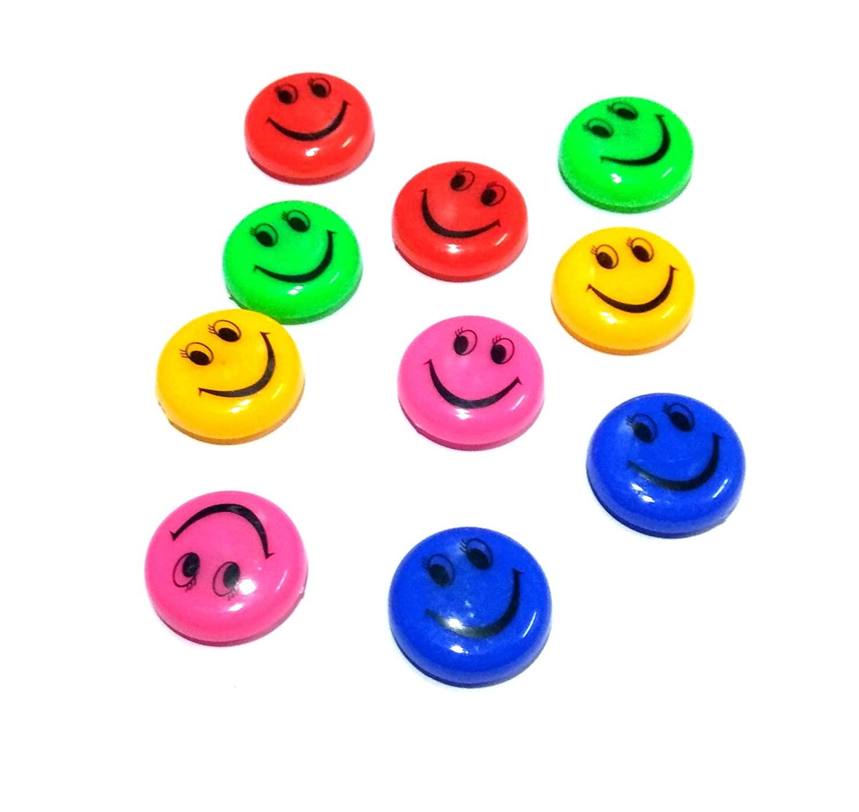 Nawani 12 Pic Fridge Magnet Refrigerator Magnets Kids Gifts Home Decoration  Smiley ,Size  2.5x2.5 cm