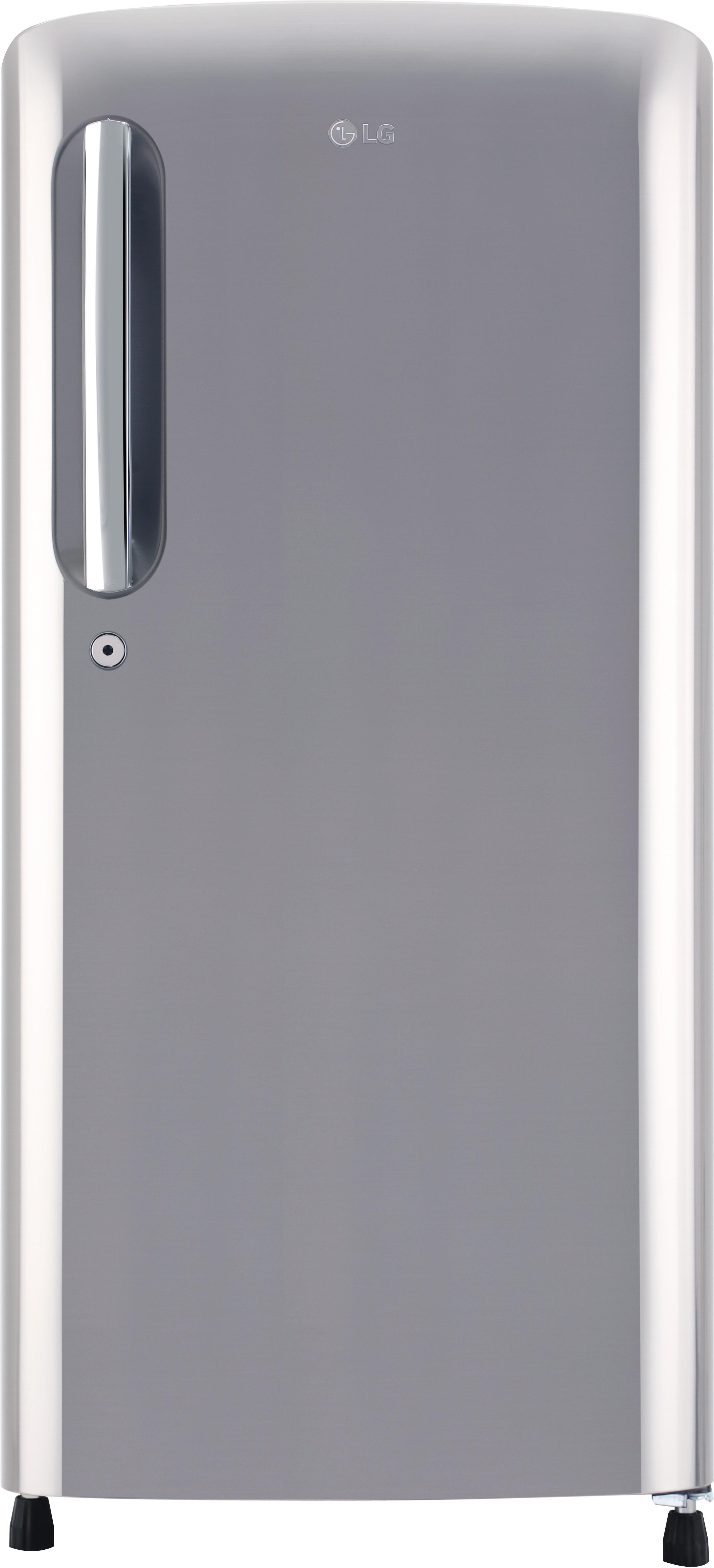 LG 190 L Direct Cool Single Door 3 Star Refrigerator  Shiny Steel, GL B201APZX