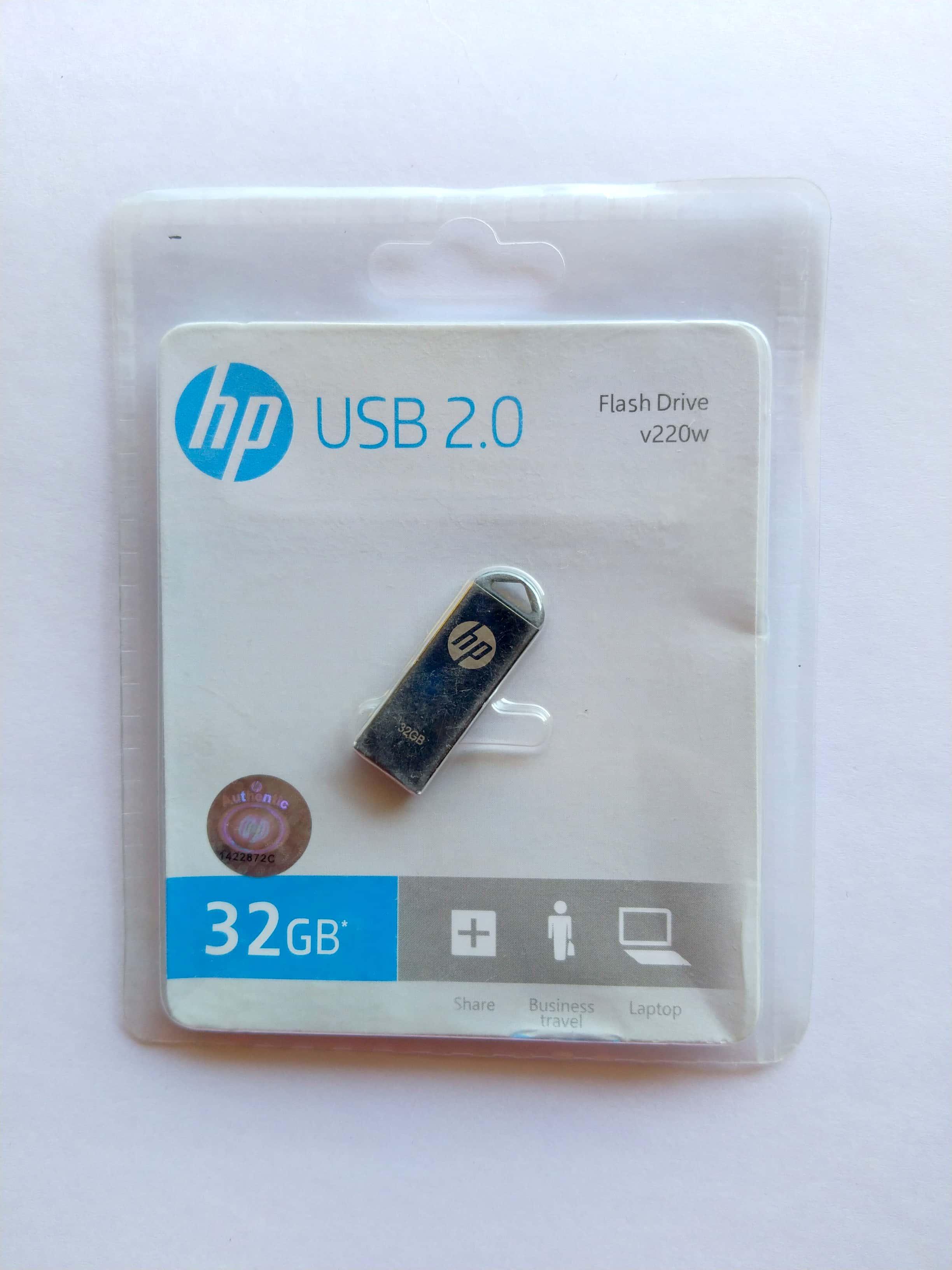 HP Pendrive 32  GB USB 2.0