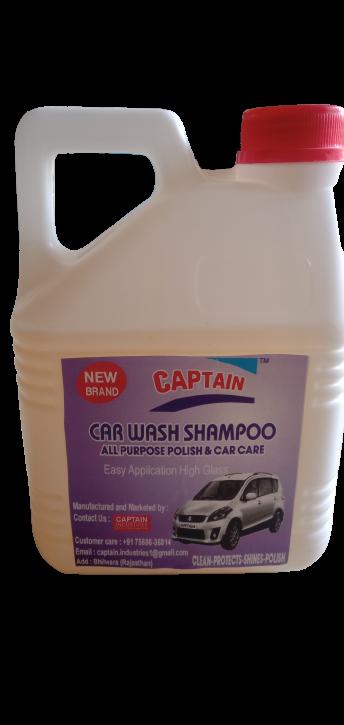 Captain High Foam Car Shampoo Car Washing Liquid   Car and Bike Shampoo, Auto Specialty Shampoo for vehicals 2L