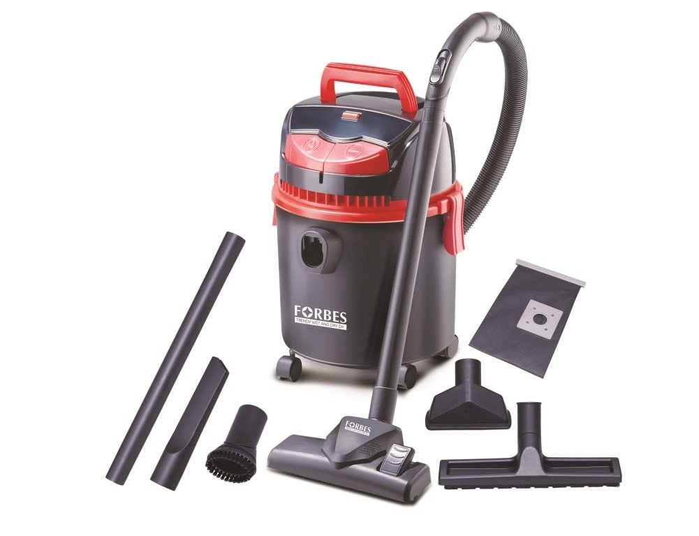 Eureka Forbes Trendy Wet and Dry DX1150 Watt Powerful Suction and Blower Function Vacuum Cleaner  Black and Red