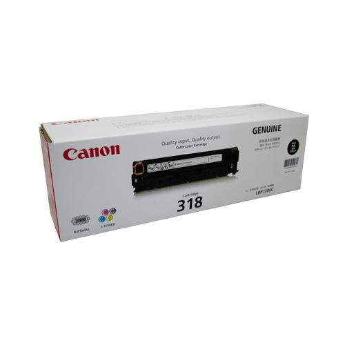 Canon 318 Black Original Laserjet Printer Toner Cartridge