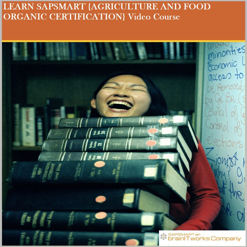 {AGRICULTURE AND FOOD ORGANIC CERTIFICATION}