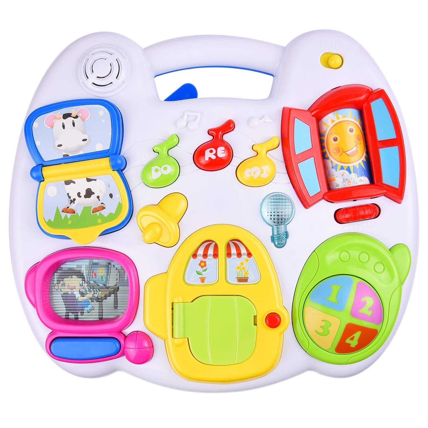 R GB GROUP DIGO Interesting Studying Tables 3 in 1 Puzzle Toys for Baby  Multicolor