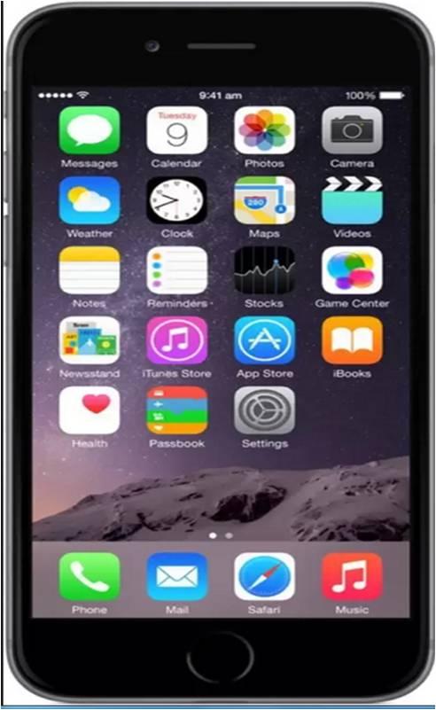 Apple iPhone 6  Grey, 32  GB