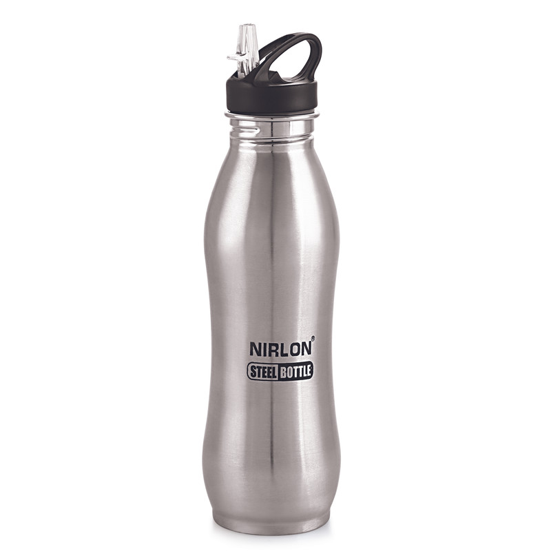 Nirlon Stainless Steel Water Bottle with Sipper  750 ml