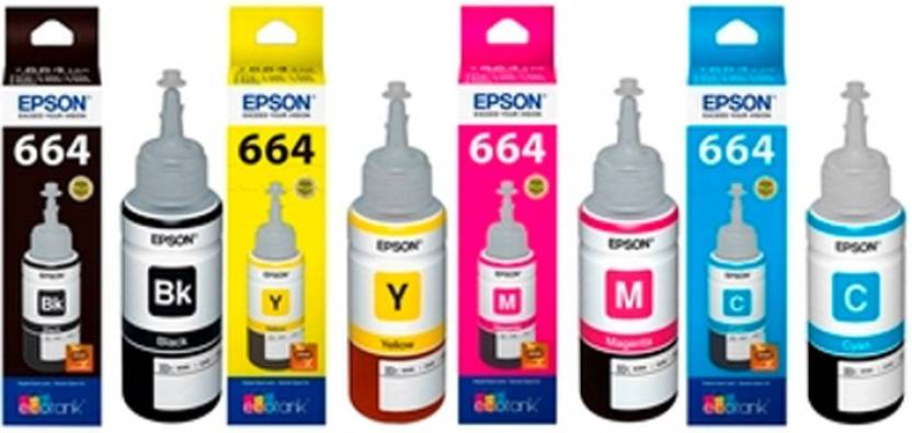 Epson T6641,T6642,T6643,T6644 Tri Color Ink Cartridge
