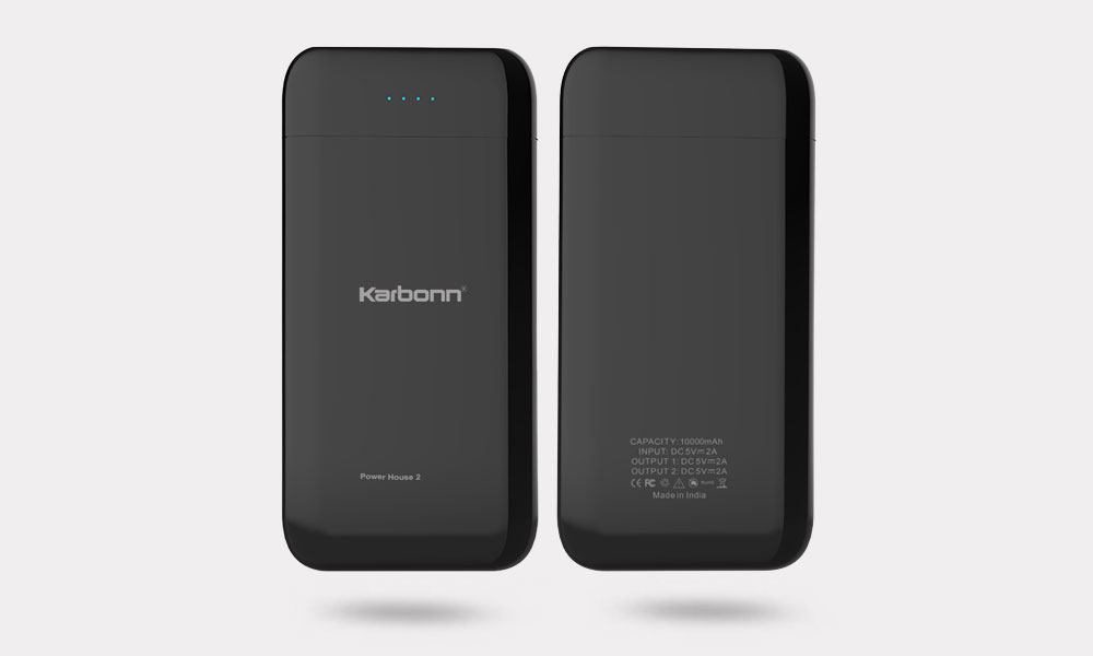 Karbonn 10000 mAh Power Bank  Quick Charger 2.0A Fast charger