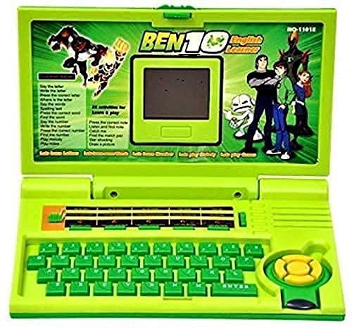 Educational Laptop Computer Toy with Mouse for Kids Above 3 Years   20 Fun Activity Learning Machine, Now Learn Letter,