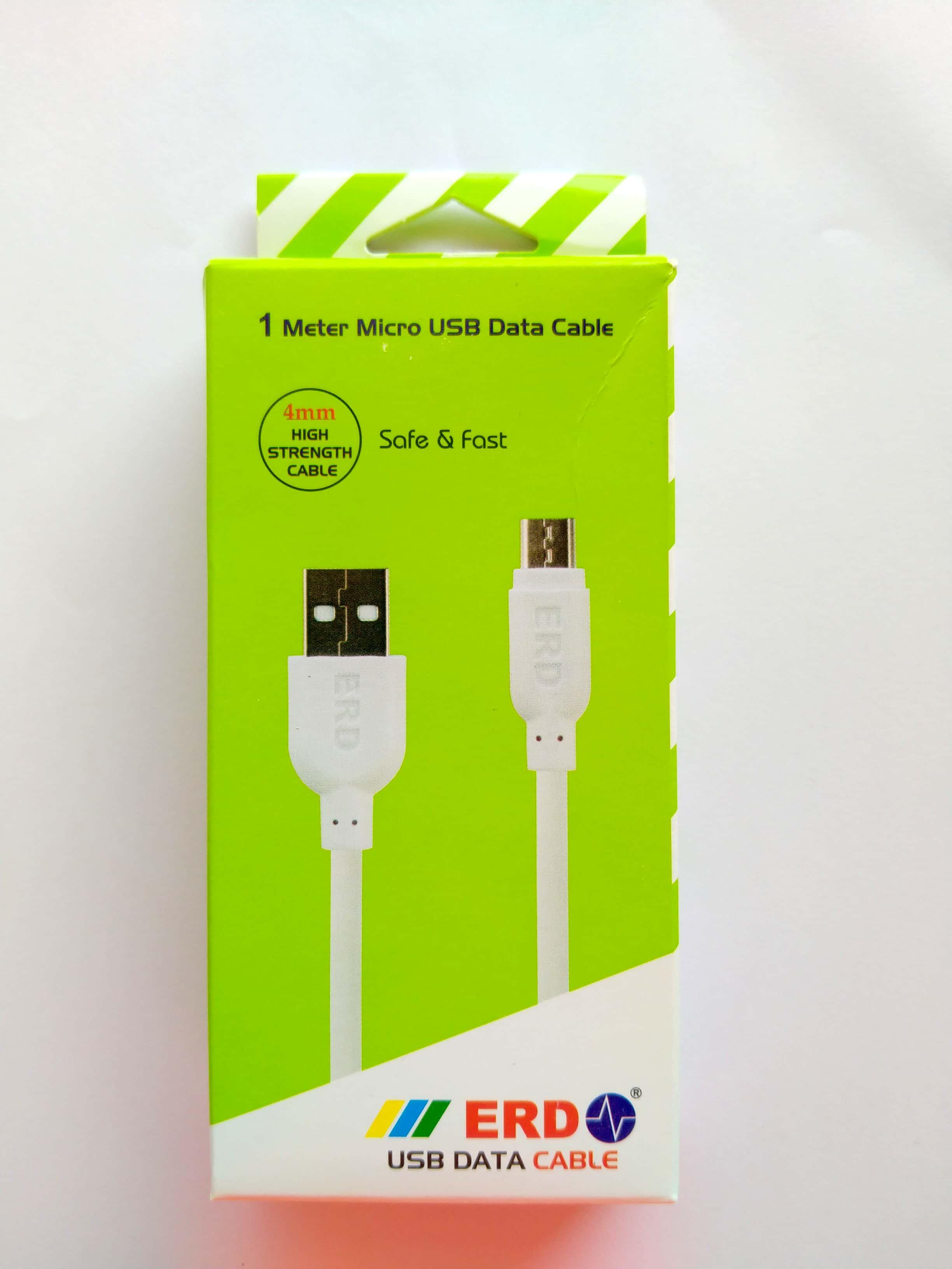 ERD 1 METER MICRO USB DATA CABLE