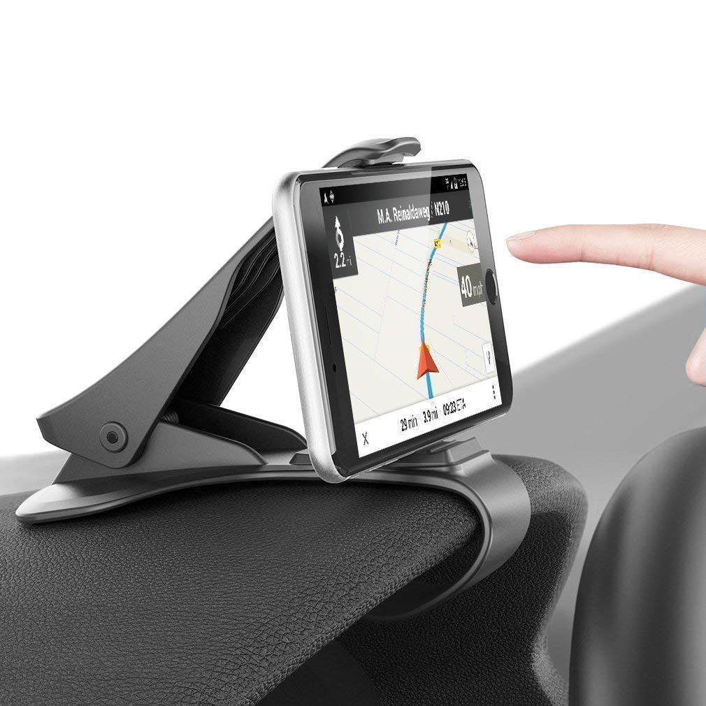 Car Mobile Dashboard Vehicle Mount Holder Universally Compatible with 3 7 Inch Smartphones GPS for Car