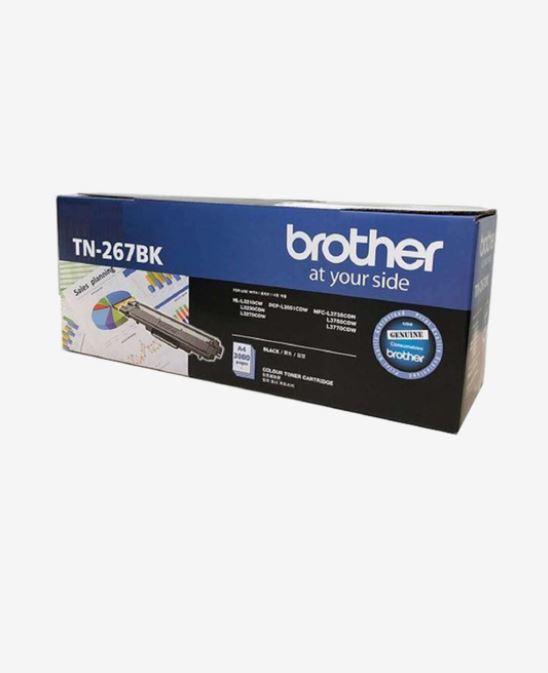 Brother TN 267 Black Toner Cartridge For Use HL L3210CW, HL L3230CDN, HL L3270CDW, DCP L3551CDW, MFC L3735CDN, MFC L3750
