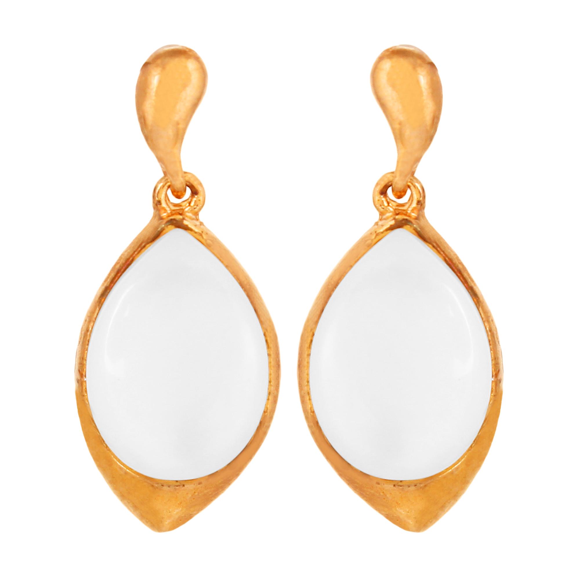 Goldnera Contemparary Design Alloy Stud Earring For Girls/Women/Kids